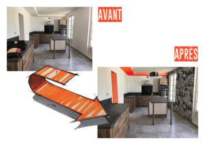AVANT/APRES cuisine Chic & Color