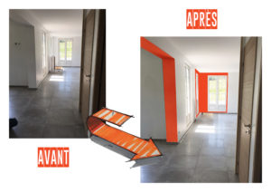AVANT/APRES entrée Chic & Color
