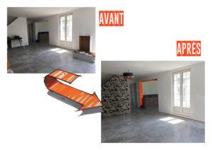 AVANT/APRES Séjour Chic & Color