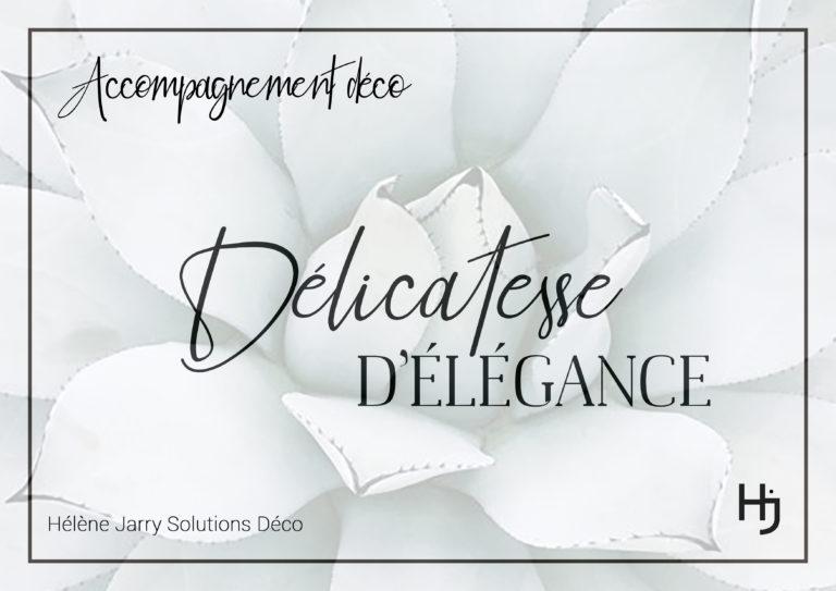 Delicatesse d'Elégance