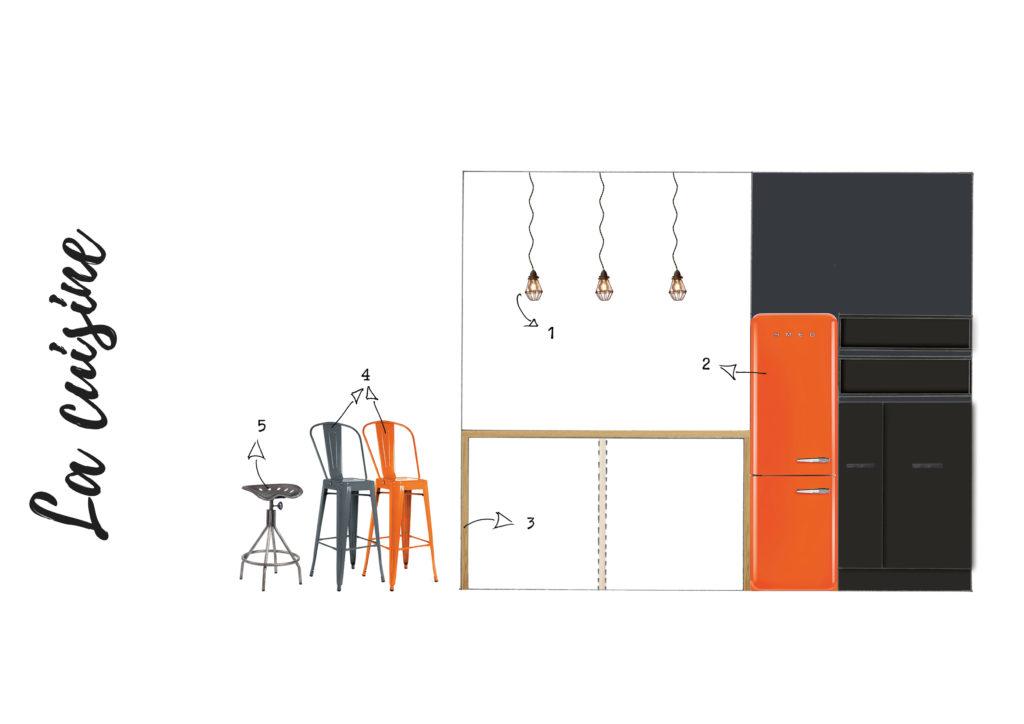 Elevation Cuisine suite Fascino Rust