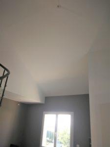 AVANT hauteur sous plafond Salon