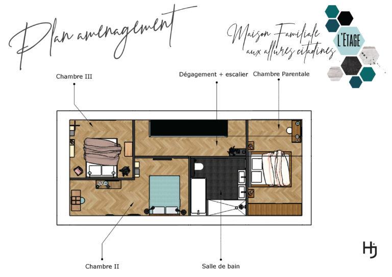 Plan Aménagement Etage
