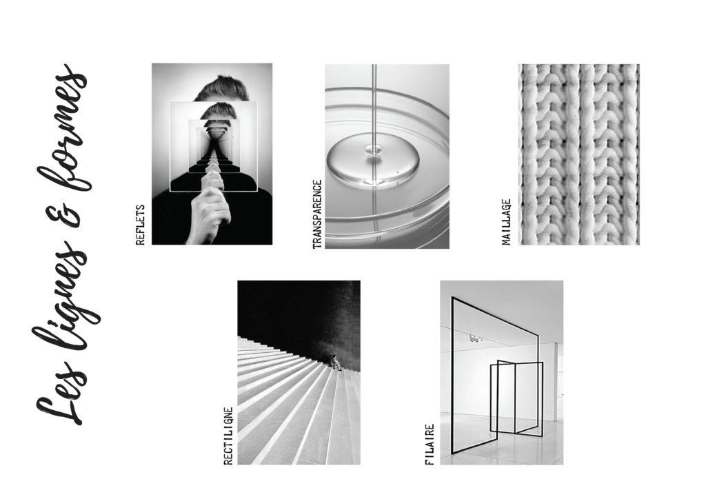 Planche Lignes et formes Fascino Rust