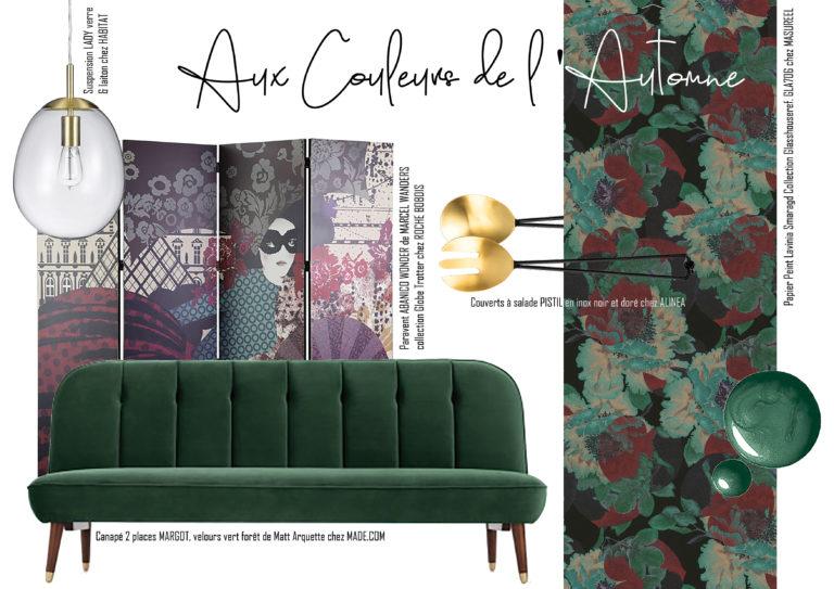 """Shopping List """"Aux couleurs de l'automne"""""""