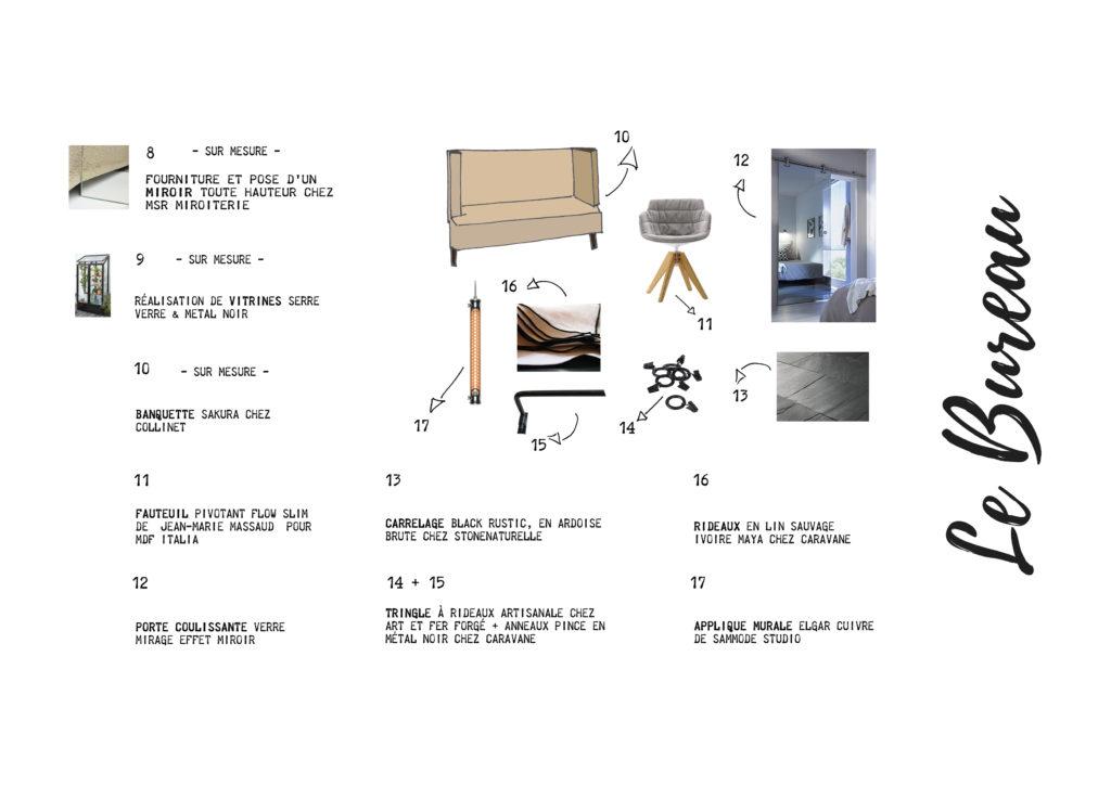 Shopping List Bureau Suite Fascino Rust
