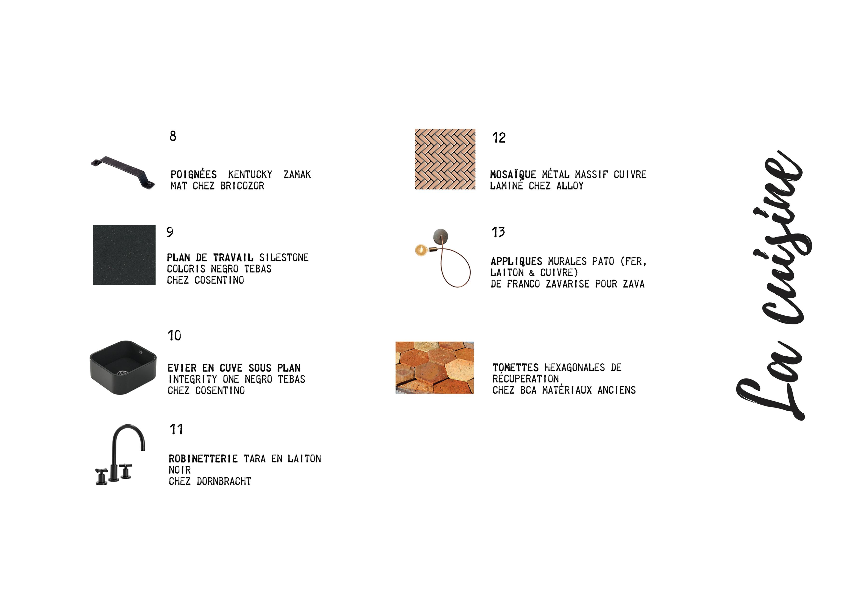 Shopping List Cuisine Fascino Rust