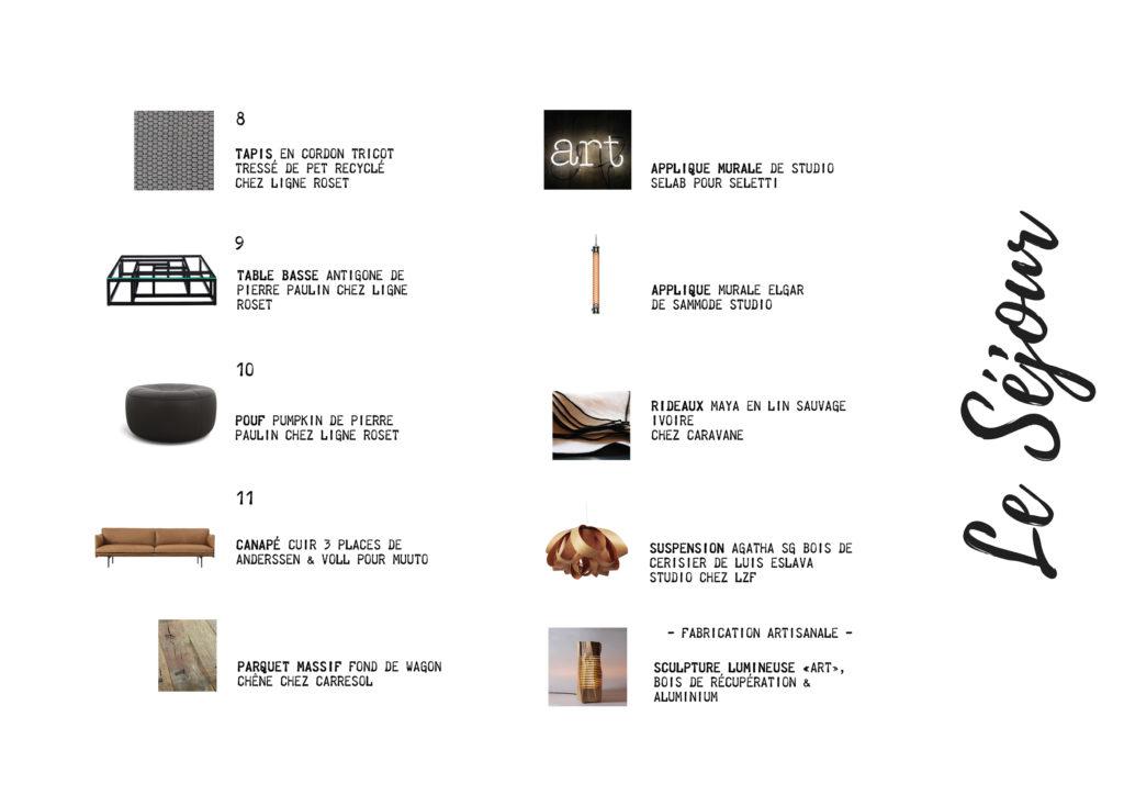Shopping List Séjour suite Fascino Rust