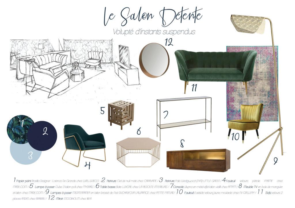 Shopping List Salon Raffinement Velouté