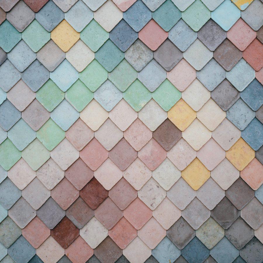 Motif couleurs pastel