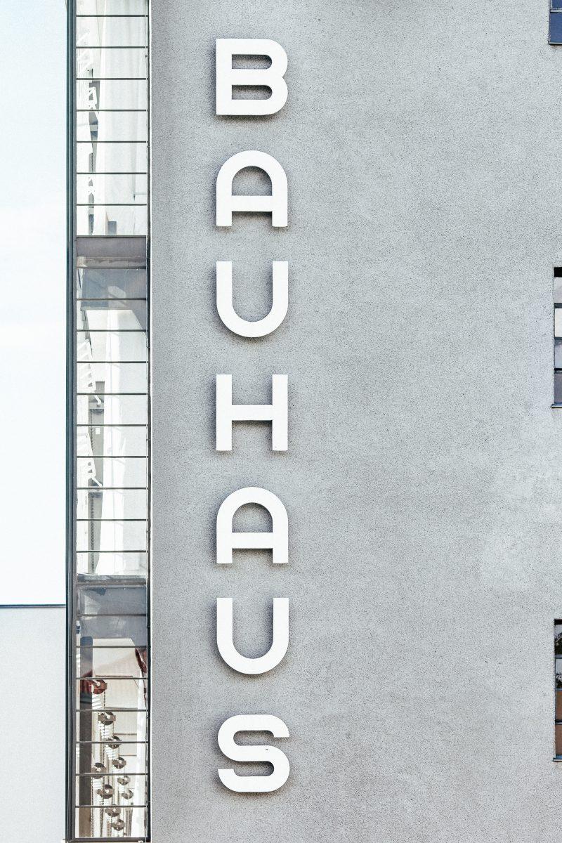 Typographie Bauhaus